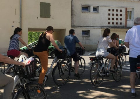 team building vélo électrique